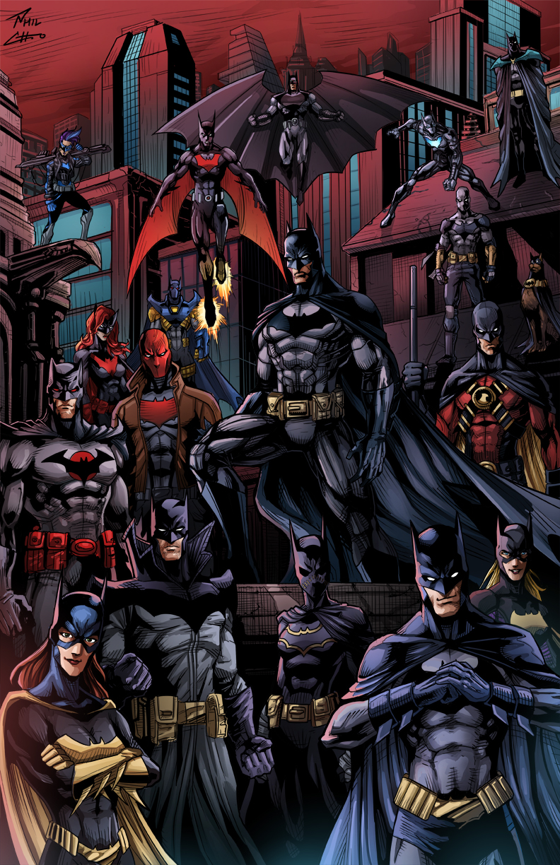Batman75 Bat Family
