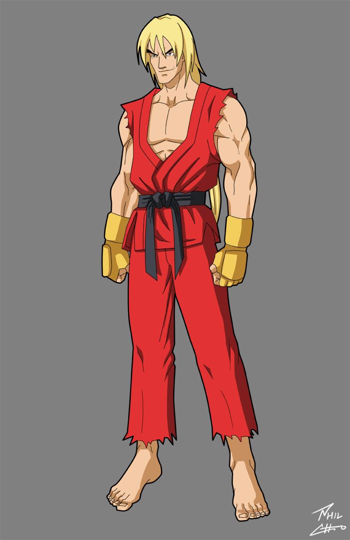 """based on Christian Howard as Ken in """"Street Fighter: Assassin's Fist"""""""