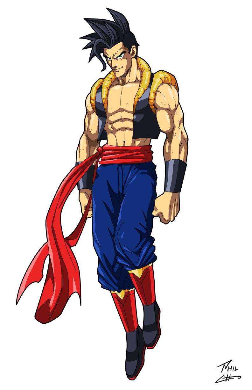 Goku x Kal-El = Gokal