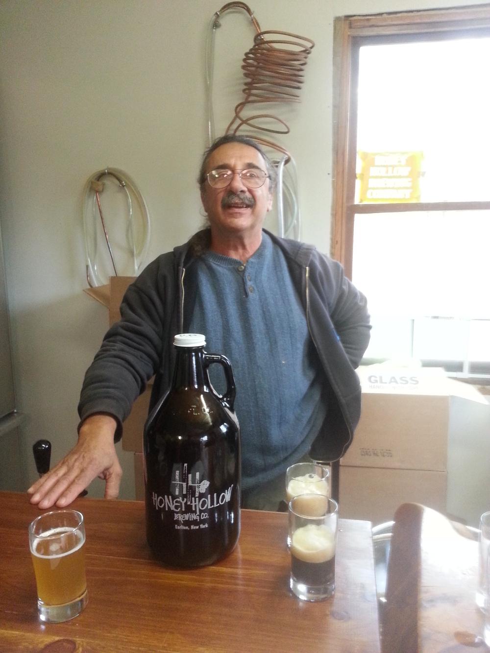 The proprietor and kindly barkeep, Matty Taormina.