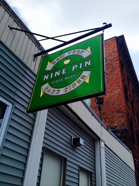 Nine Pin Cider Works is located in Albany's industrial downtown corridor.