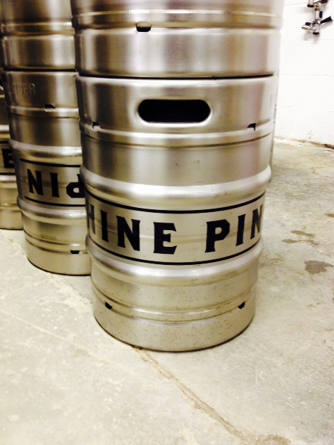 Cider kegs, reporting for duty.