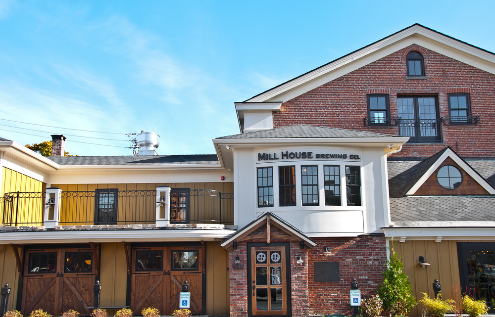 The Mill House Brewing Company is located in a gorgeous renovated building.