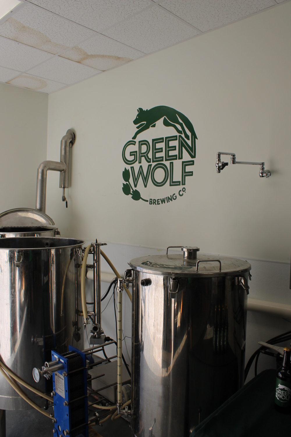 The brewing system.