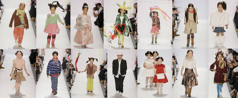 Children's Fashion Show during FashionWeek