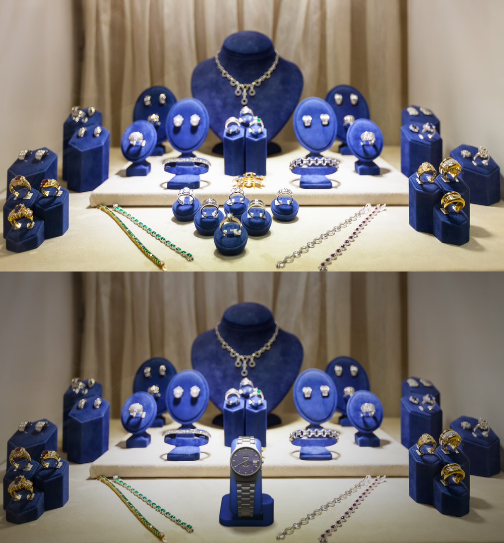 watch jewelry store display before-after.png