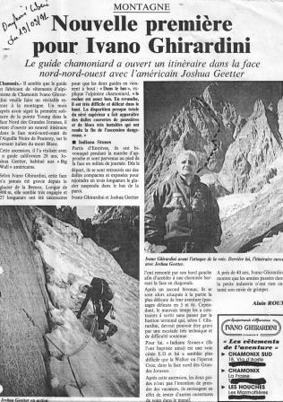 Ivano Ghirardini Joshua Geetter Peuterey