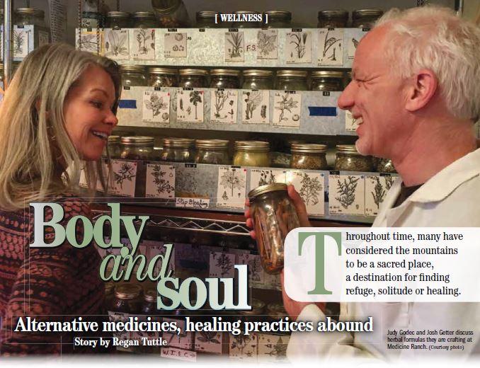 Telluride Daily Planet WinterGuide 2017 - Medicine Ranch - Josh Geetter & Judy Godec