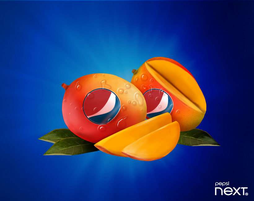 Pepsi NEXT Paradise Mango flavor