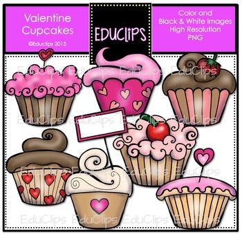 Educlips cupcake clipart