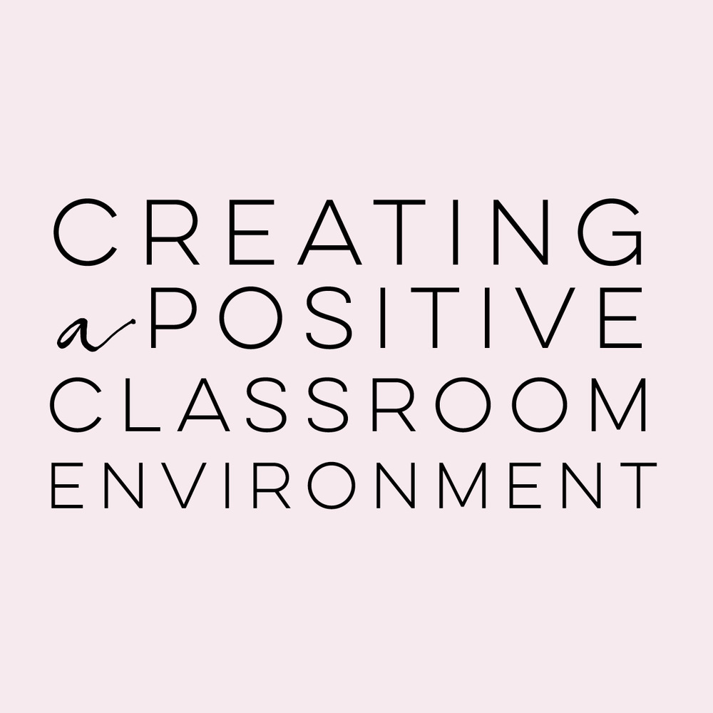 Creating a Positive Classroom Environment | everythingjustso.org | Do you have a class that constantly bickers, tattles, or finds fault with each other? I've been there! Here are two free resources that will help turn your classroom around.