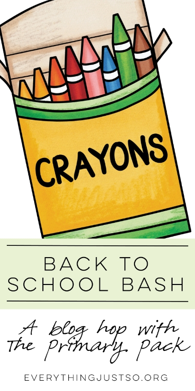 Back to School Bash | everythingjustso.org | Are you looking for ideas, tips, and resources for back to school? We've got you covered!