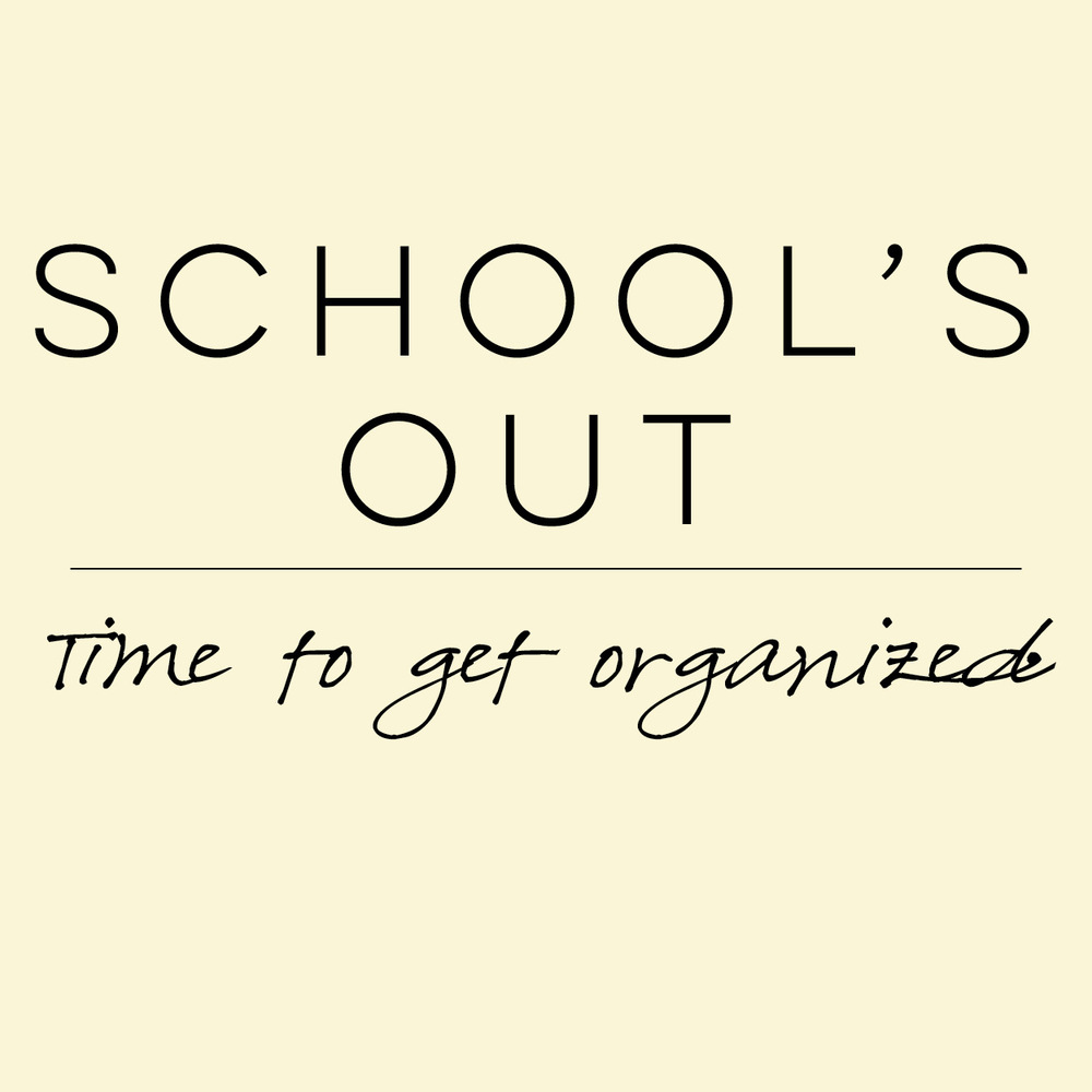 Organize to Simplify blog series for teachers | everythingjustso.org