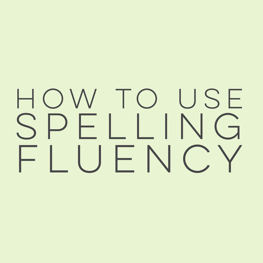 How to use Spelling Fluency | everythingjustso.org | In the second of two posts, I detail the steps to incorporating Spelling Fluency to help students learn sight words and rule breakers. Also includes tips for ensuring Spelling Fluency practices run smoothly in your elementary classroom.