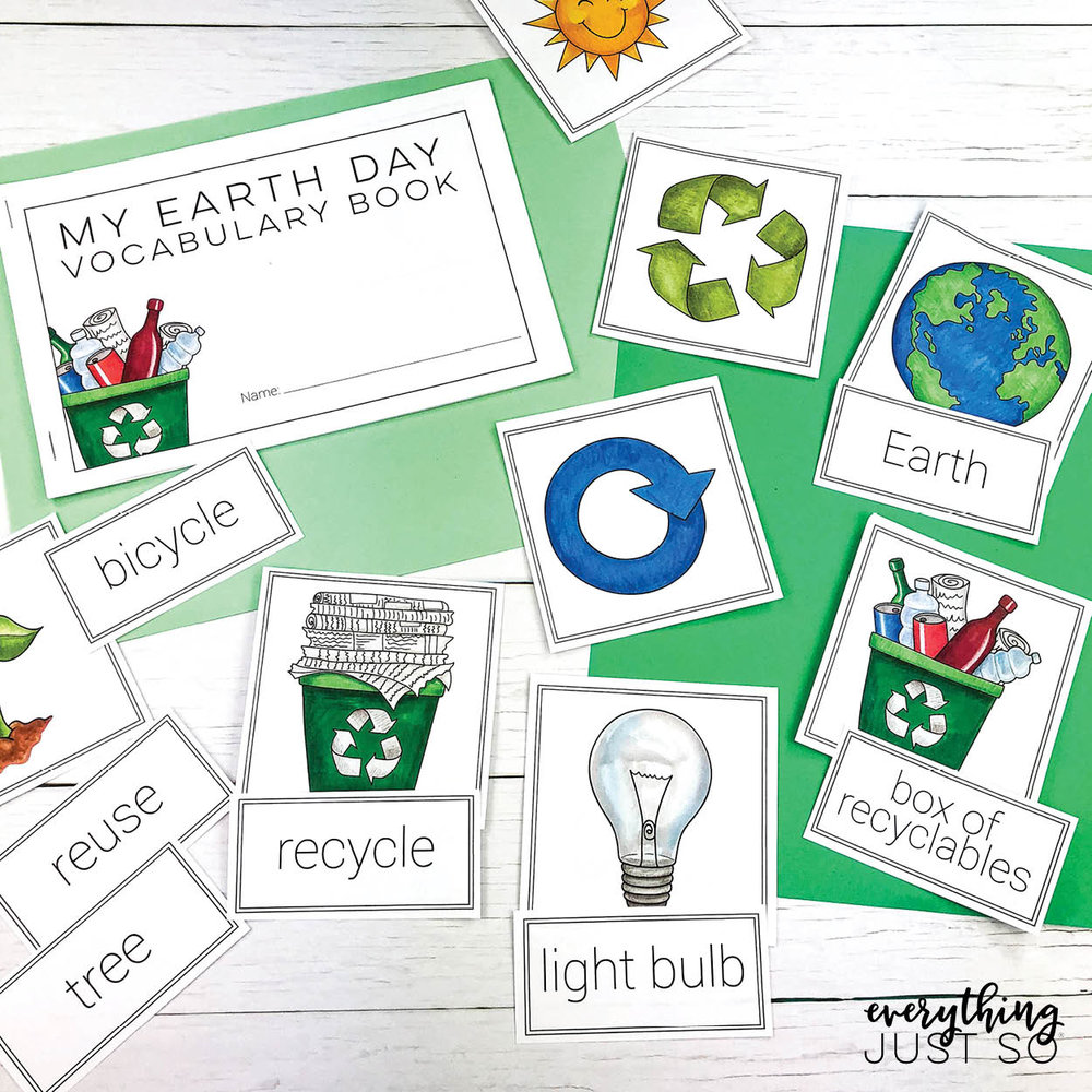 Earth Day Mini Unit | everythingjustso.org