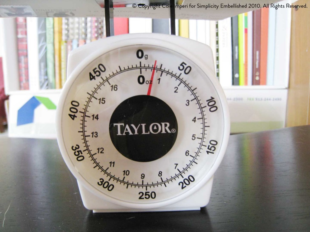Taylor Weigh & Store Kitchen Scale