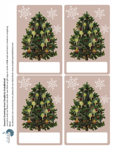 4 free downloadable holiday tags