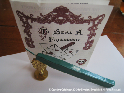 Wax Seal and Sealing Wax