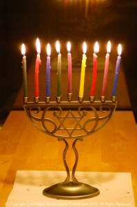 Menorah 2010 Bright