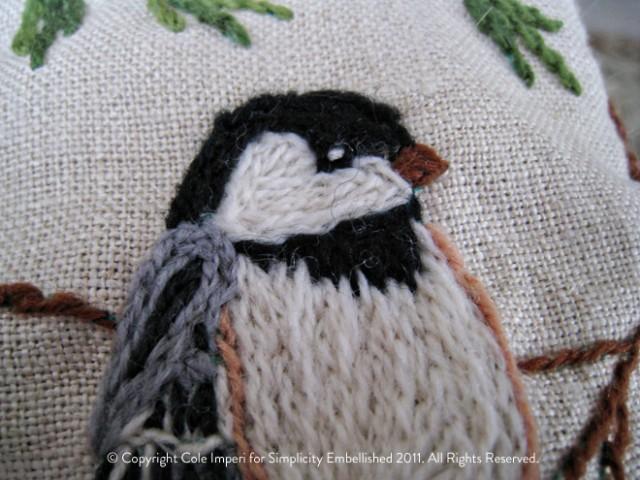 Crewelwork Bird