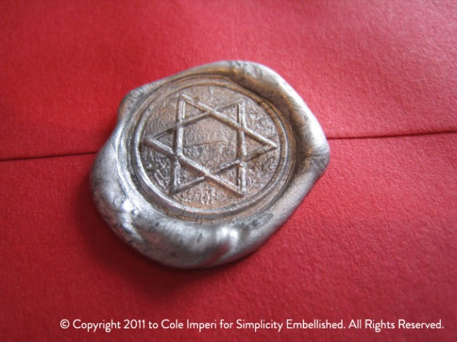 Star of David Wax Seal