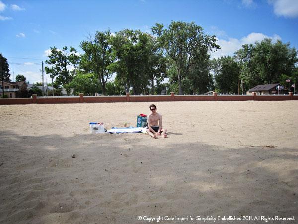 Lake Erie Port Clinton Beach