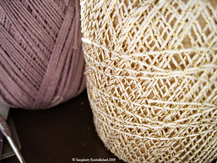 lacy yarn
