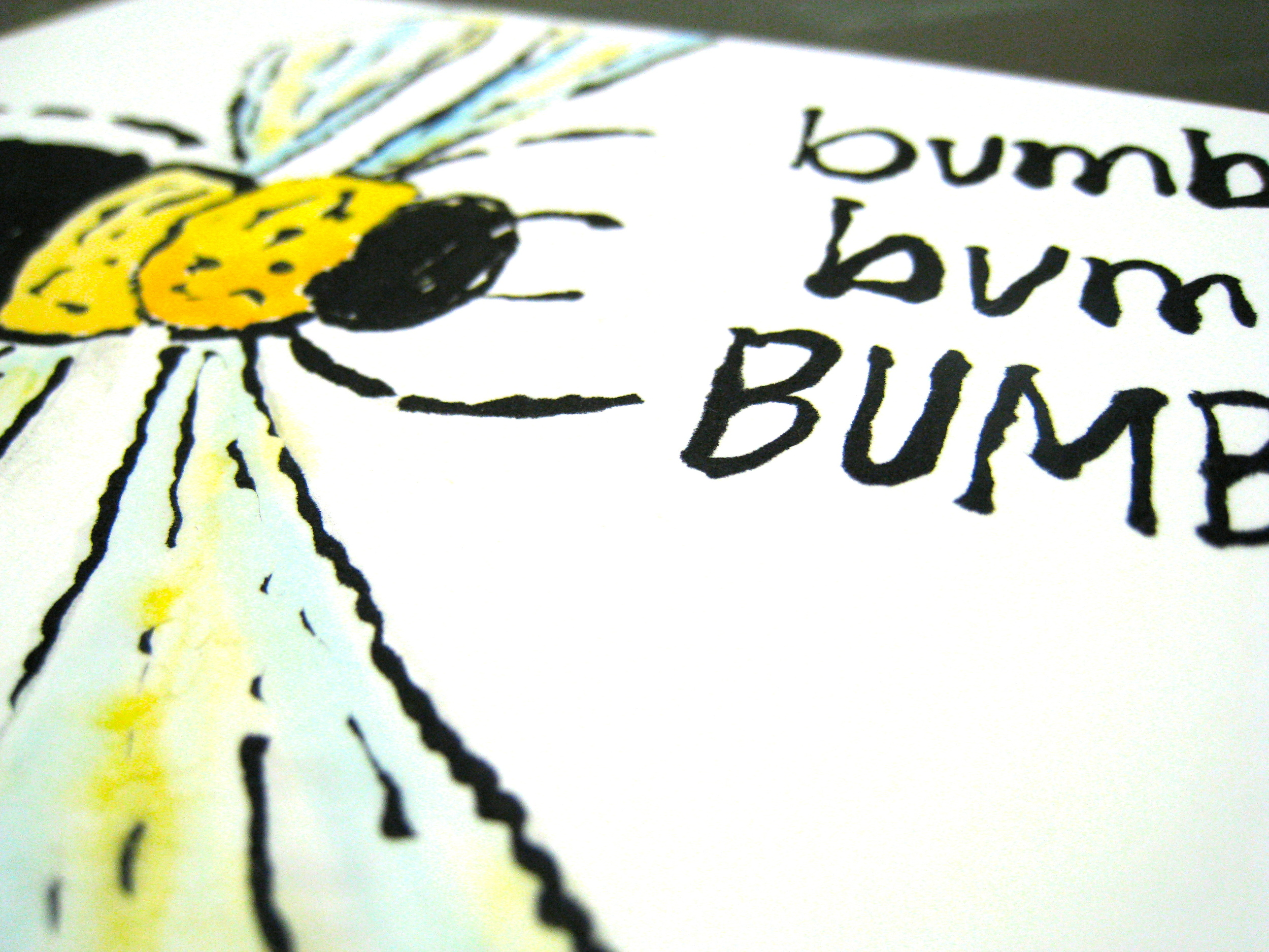 Bee etegami