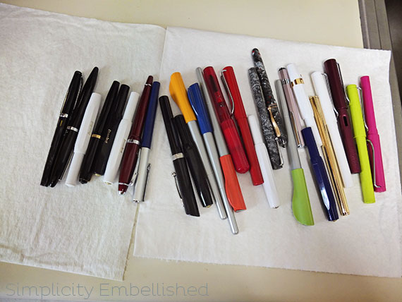 Fountain Pens All Cleaned Up!