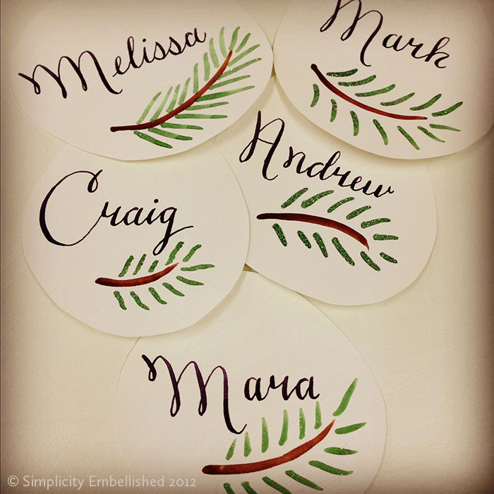 Thanksgiving Name Tags