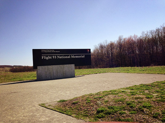 flight 93 memorial entrance