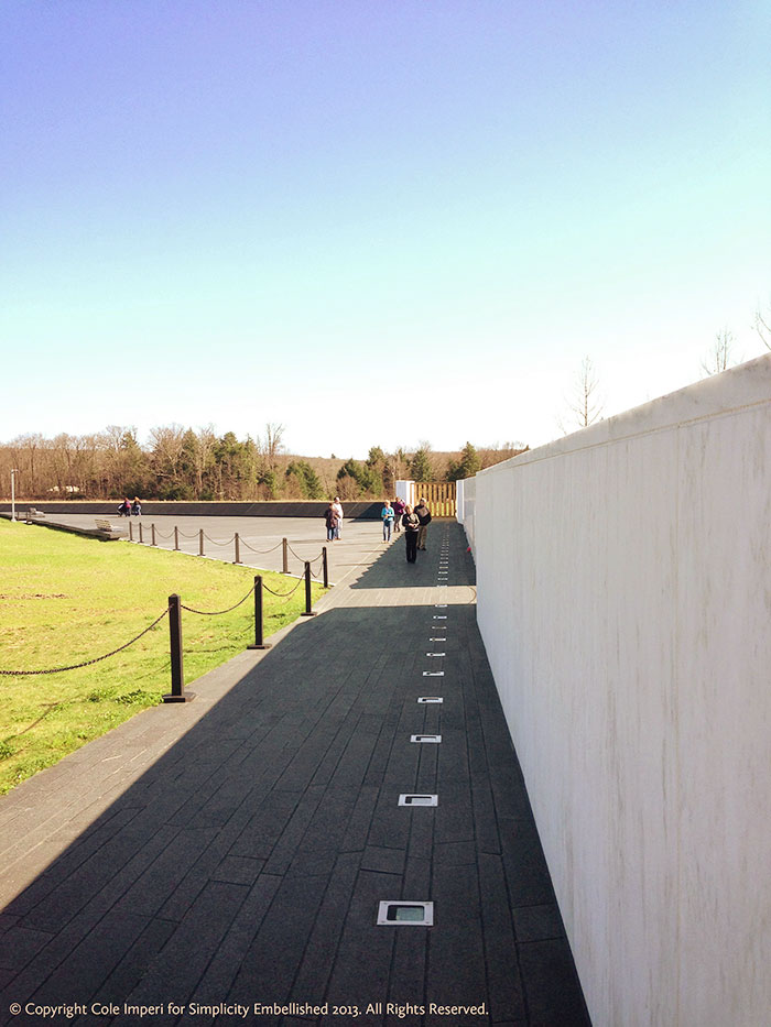 flight 93 memorial flight path