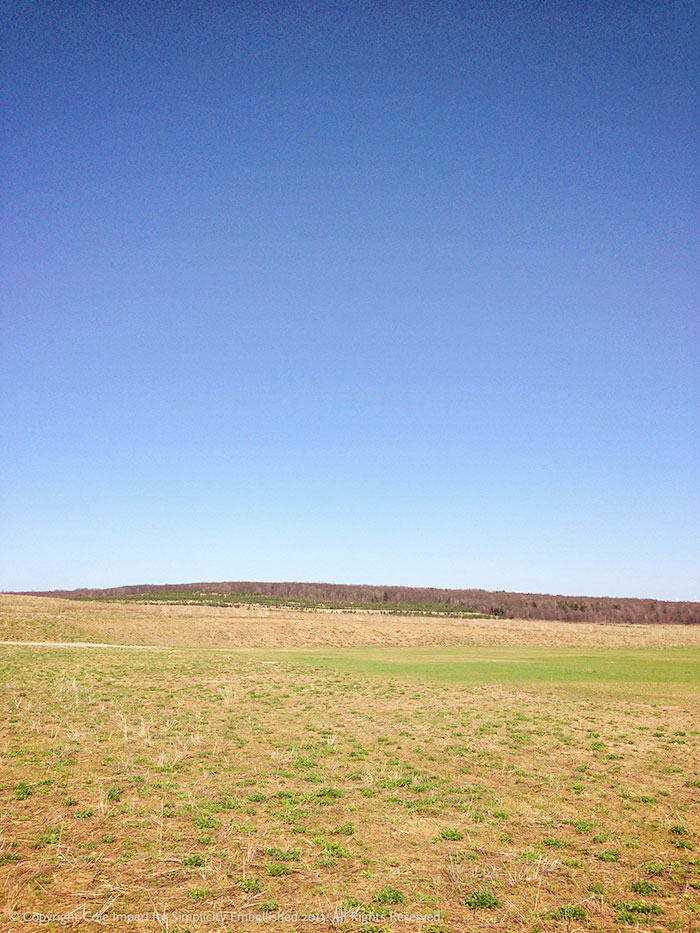 flight 93 memorial scenery