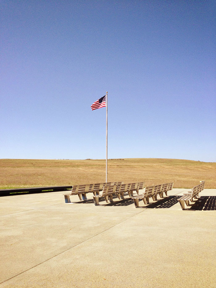 flight 93 memorial seating