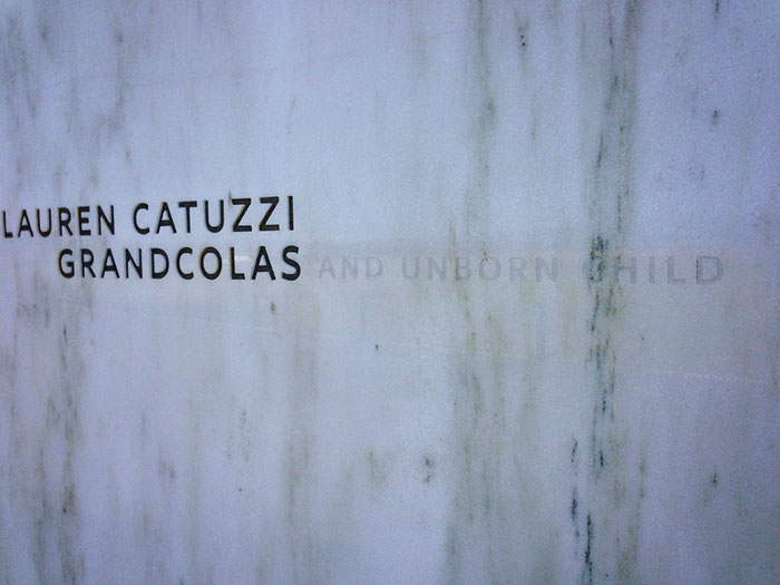 flight 93 memorial wall lauren catuzzi grandcolas
