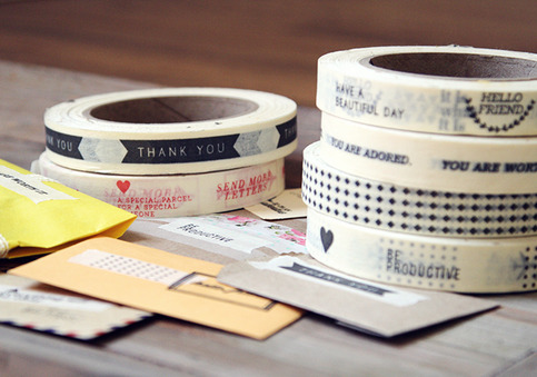 message masking tape by oh hello friend
