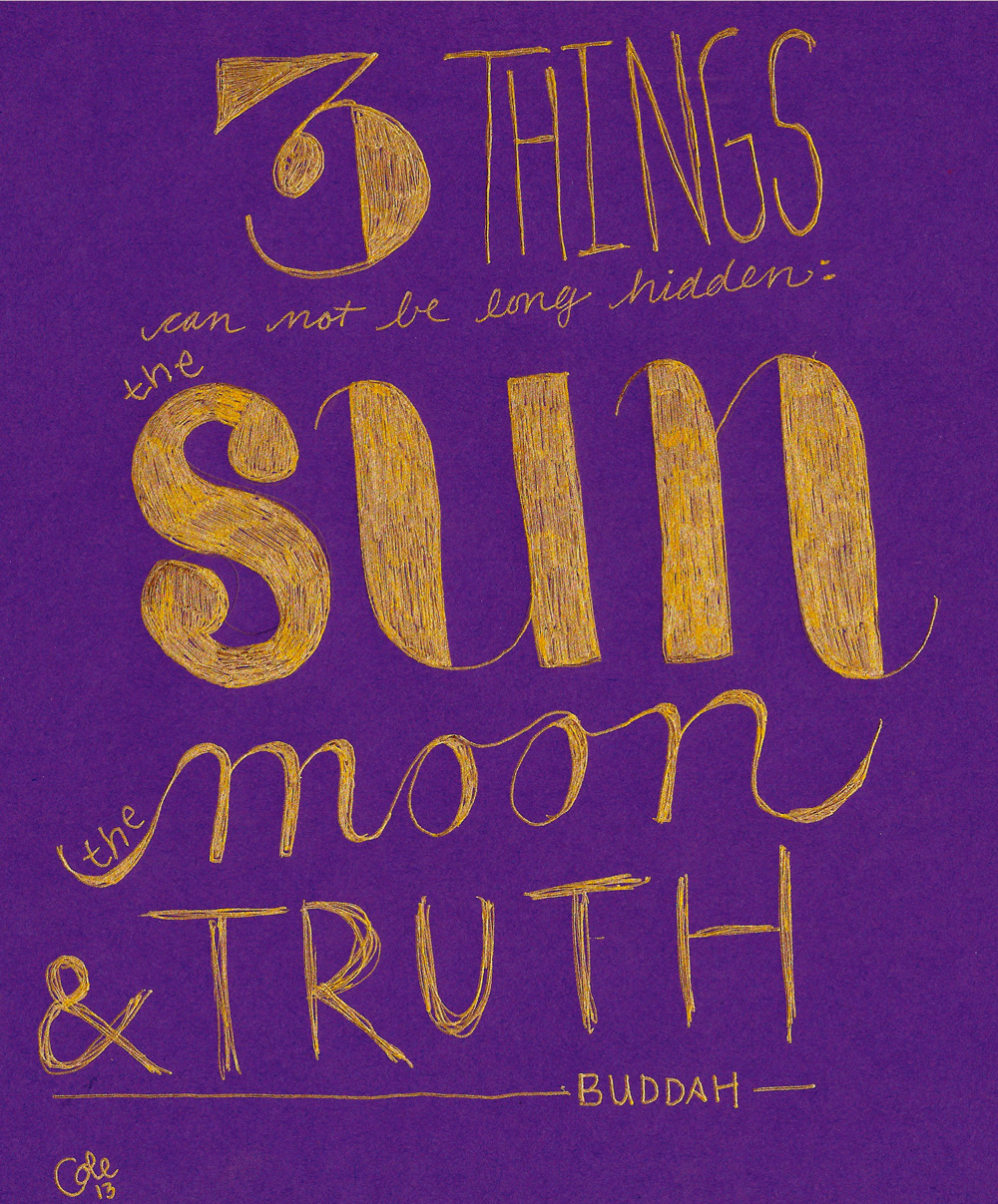 3 things buddha quote