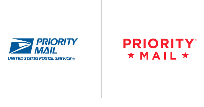 USPS New Priority Mail Branding