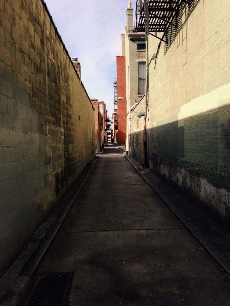 Alley in Cincinnati