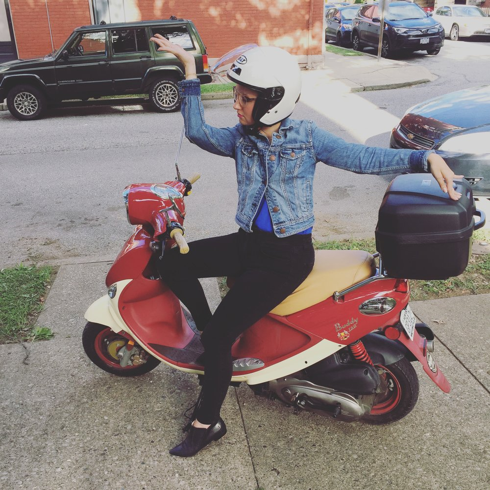 Fat Girl Moped