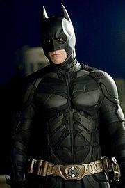 Christian Bale as Batman in The Dark Knight.