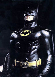 Michael Keaton as Batman in the 1989 film.