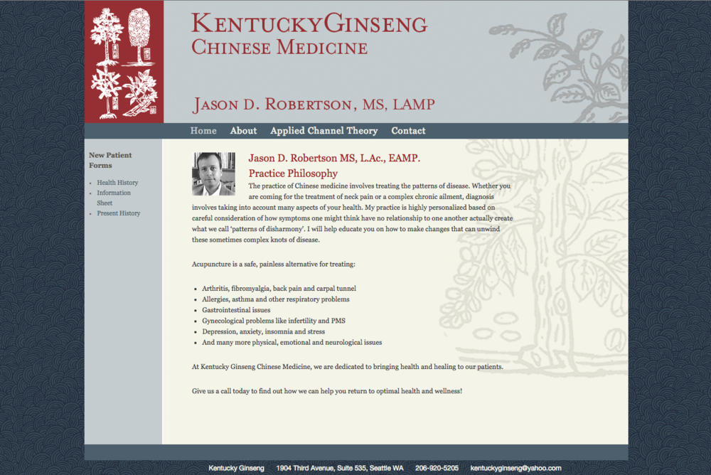 Kentucky Ginseng Acupuncture -- www.kentuckyginseng.com/