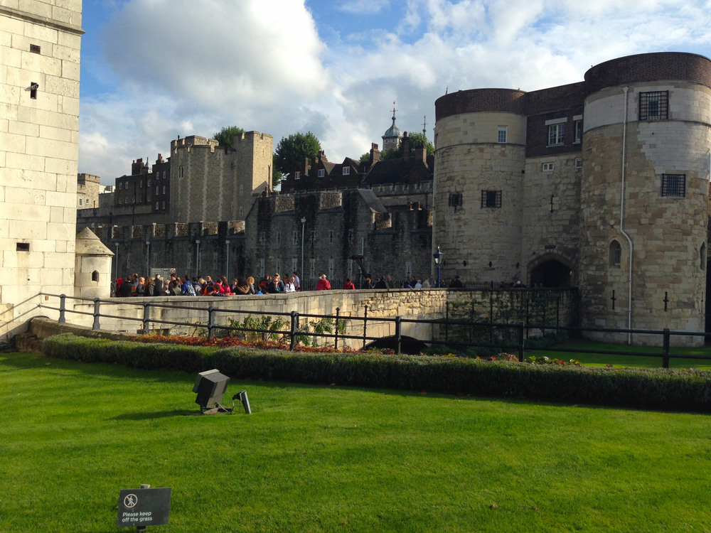 Tower of London, built 1078