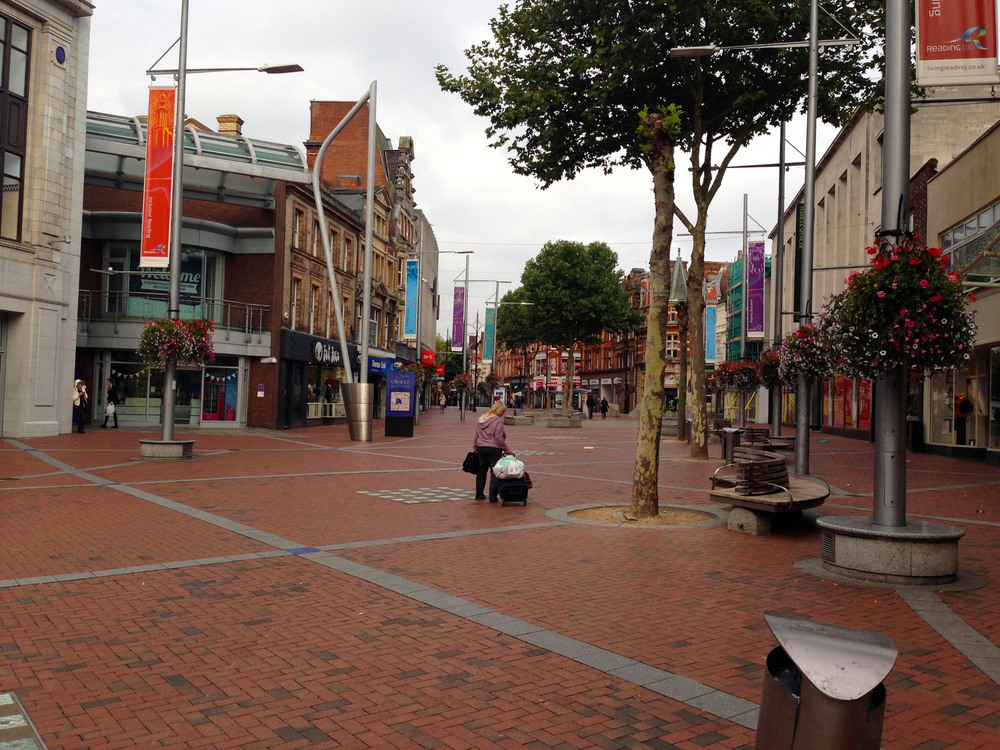 Broad Street, Reading - tons of shopping and restaurants
