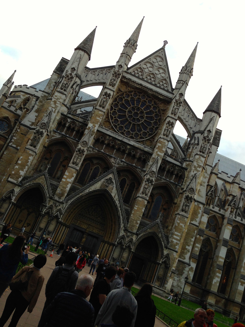 Westminster Abbey, east side
