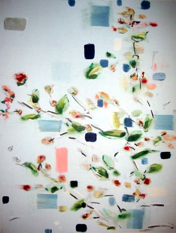 Branch IV, monoprint, 30x22 inches, 2003. Stowers Medical Research Collection.
