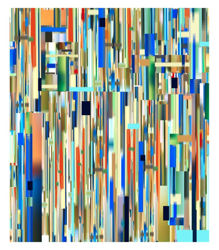 Transit Long, pigment print, 54x44 inches, 2010-11.