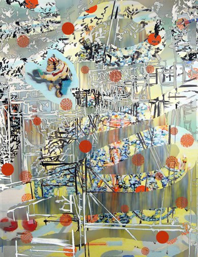"Conduit,3D Lenticular Print,20X16"",2008."