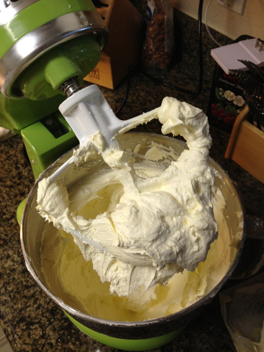 Once the butter was creamed, I thought the mixture was slicker than it should have been.